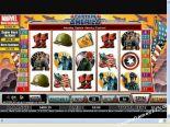 spielautomaten spielen Captain America CryptoLogic