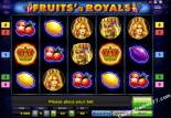 spielautomaten spielen Fruits and Royals Novoline